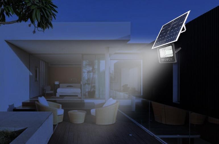 Đèn pha năng lượng 40w