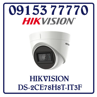 DS-2CE78H8T-IT3F Camera HIKVISION HD-TVI 5MP Giá Rẻ