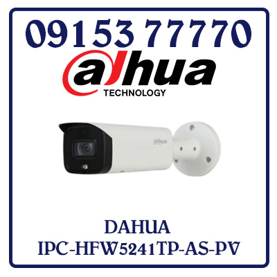 IPC-HFW5241TP-AS-PV Camera DAHUA IP 2.0MP Giá Rẻ Nhất