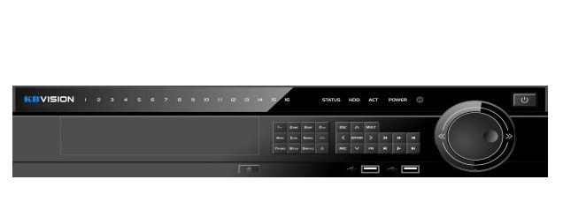 KX-D4K8816NR3 ĐẦU GHI KBVISION IP ( HỖ TRỢ CAMERA LÊN ĐẾN 8.0MP)