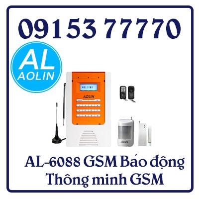 AL-6088GSM Báo động Thông minh GSM 80 vùng không dây, 4 vùng có dây.