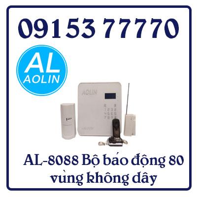 AL-8088 Bộ báo động 80 vùng không dây, 4 vùng có dây -Trọn bộ