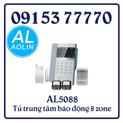 AL5088 Tủ trung tâm báo động 8 zone không dây kết hợp 04 zone có dây