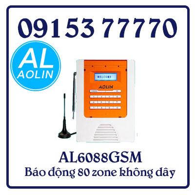 AL6088GSM Báo động 80 zone không dây kết hợp 04 zone có dây
