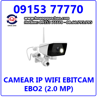 Camera Ebitcam EBO2 (2.0 MP) Giá Rẻ Nhất
