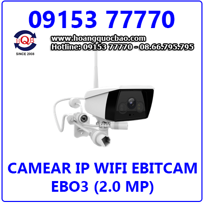 Camera Ebitcam EBO3 (2.0 MP) Giá Rẻ Nhất