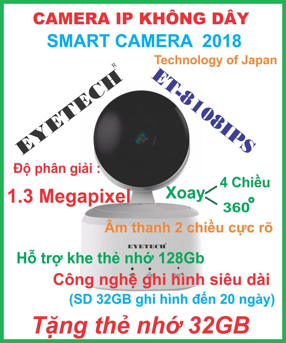 Camera Ip Không Dây Thông Minh 1.3 Megapixel