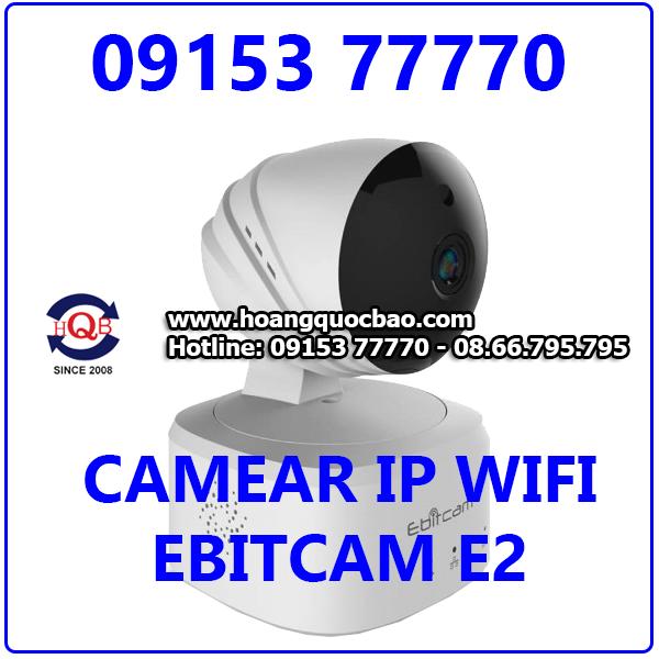 Camera EBITCAM-E2 1.0M(720P) Giá Rẻ Nhất Tặng Thẻ Nhớ 16GB