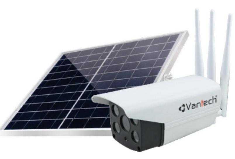 Camera năng lượng mặt trời Vantech có tốt không, giá bao nhiêu, mua ở đâu?