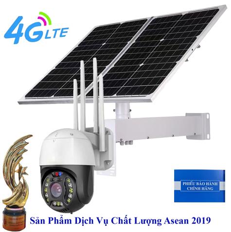 Camera Năng Lượng Mặt Trời Wifi + 4G 2.0Mp JD-8020A2