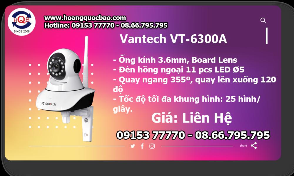 Camera Vantech VT-6300A giá bao nhiêu, mua ở đâu, có tốt không?