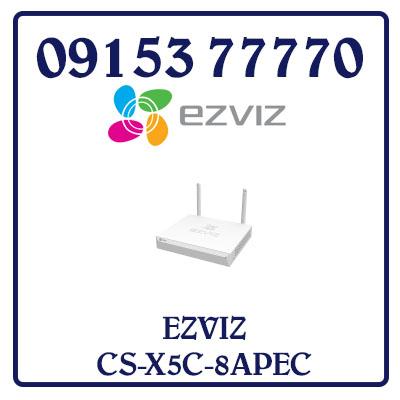 CS-X5C-8APEC Đầu ghi hình wifi EZVIZ 08 kênh CS-X5C-8APEC Giá Rẻ