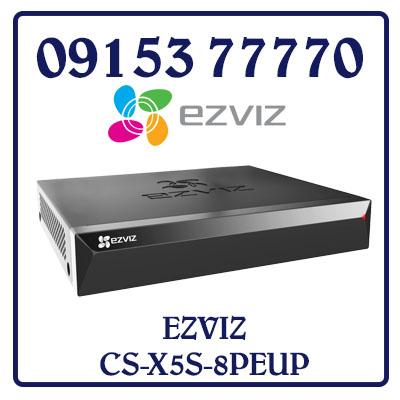CS-X5S-8PEUP Đầu ghi hình PoE EZVIZ 08 kênh ( có 4 cổng PoE ) CS-X5S-8PEUP Giá Rẻ