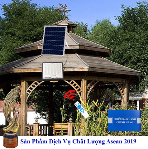 ĐÈN 100W CHỐNG CHÓI NĂNG LƯỢNG MẶT TRỜI - Solar Light 100W