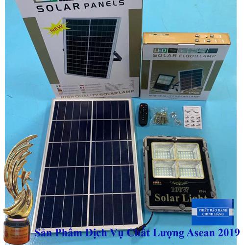 Đèn 100W Năng Lượng Mặt Trời - Đèn Năng Lượng Mặt Trời 100W TS-85100L