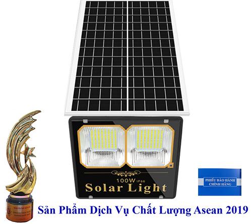 Đèn 100W Pin Rời - Đèn Năng Lượng Mặt Trời 100W - Solar Light 100W