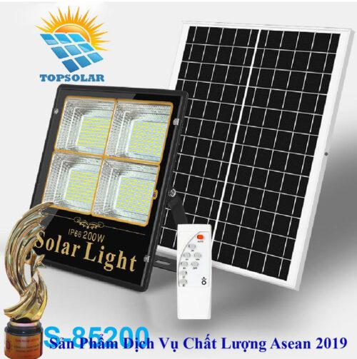 Đèn 200W Pin Rời - Đèn năng lượng mặt trời 200W