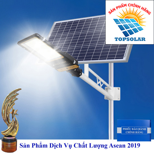 Đèn 300W - Đèn Đường 300W Tấm Pin Rời Solar Light TOPSOLAR 300W