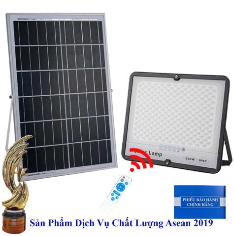 ĐÈN 300W CHỐNG CHÓI NĂNG LƯỢNG MẶT TRỜI - Solar Light 300W