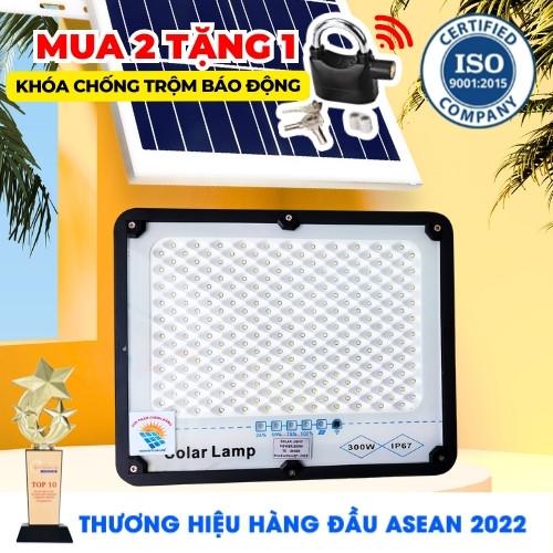 ĐÈN 300W CHỐNG CHÓI NĂNG LƯỢNG MẶT TRỜI - Solar light TOPSOLAR 300W