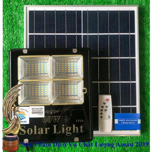 ĐÈN 60W NĂNG LƯỢNG MẶT TRỜI - ĐÈN NĂNG LƯỢNG MẶT TRỜI 60W ÁNH SÁNG MÀU VÀNG -Solar Light 60W