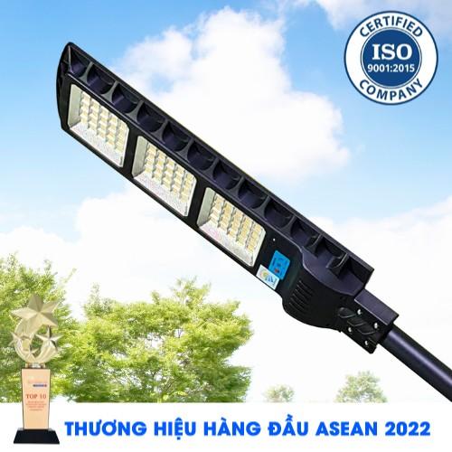 Đèn Đường 300W - Đèn Đường Năng Lượng Mặt Trời Solar Light Top Solar 300W Ánh Sáng Vàng