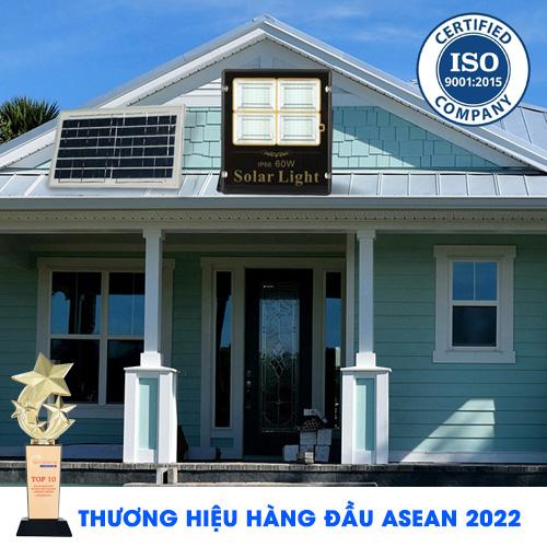 ĐÈN PHA 60W NĂNG LƯỢNG MẶT TRỜI  TOPSOLAR 8560 - Solar Light 60W