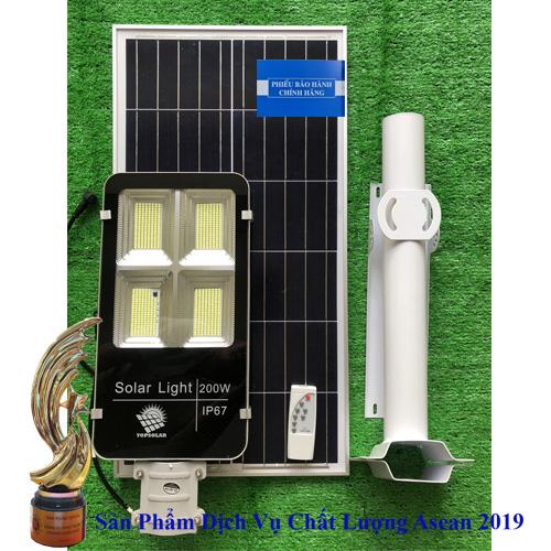 Đèn TS-78200K4 200W - Đèn Đường Năng Lượng Mặt Trời 200W TS-78200K4 - Solar Light TopSolar 200W