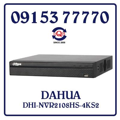 DHI-NVR2108HS-4KS2 Đầu Ghi Hình DAHUA DHI-NVR2108HS-4KS2 Giá Rẻ
