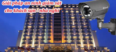 Dịch vụ lắp đặt camera cho khách sạn giá rẻ