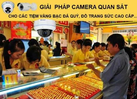 Dịch vụ lắp đặt camera cho tiệm vàng giá rẻ