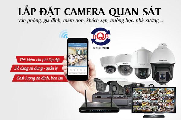 Dịch vụ lắp đặt camera giá rẻ tại Hóc Môn trọn gói