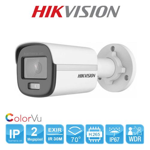 DS-2CD2047G1-L Camera 4MP ColorVu cho hình ảnh màu sắc 24/7