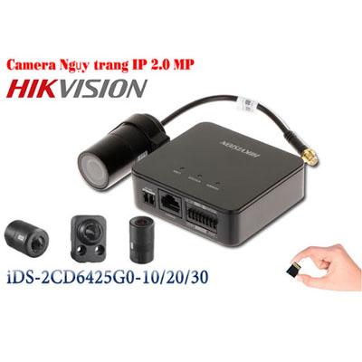 DS-2CD6425G0-10 DS-2CD6425G0-20 DS-2CD6425G0-30 Camera IP ngụy trang 2 megapixel
