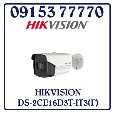 DS-2CE16D3T-IT3(F) Camera HIKVISION HD-TVI 2MP Giá Rẻ
