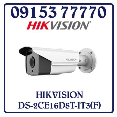 DS-2CE16D8T-IT3(F) Camera HIKVISION HD-TVI 2MP Giá Rẻ