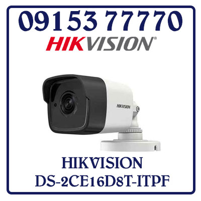 DS-2CE16D8T-ITPF Camera HIKVISION HD-TVI 2MP Giá Rẻ