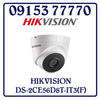 DS-2CE56D8T-IT3(F) Camera HIKVISION HD-TVI 2MP Giá Rẻ