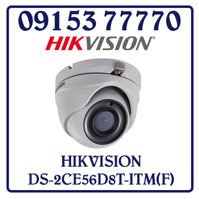 DS-2CE56D8T-ITM(F) Camera HIKVISION HD-TVI 2MP Giá Rẻ