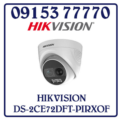 DS-2CE72DFT-PIRXOF Camera HIKVISION HD-TVI 2MP Giá Rẻ