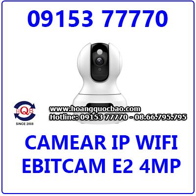 EBITCAM-E2 4.0MP Camera IP Không Dây EBITCAM-E2 EBITCAM-E2 4.0MP Giá Rẻ