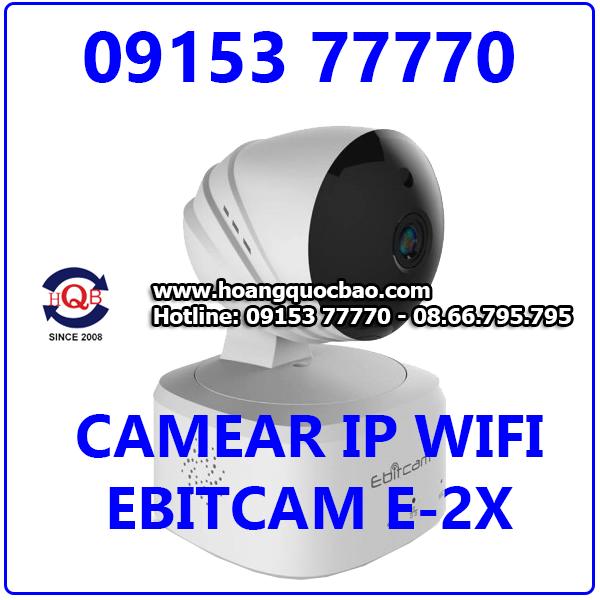 EBITCAM-E2-X 2.0M(1080P)  Camera IP Không Dây EBITCAM-E2-X Giá Rẻ Tặng Thẻ Nhớ 32GB