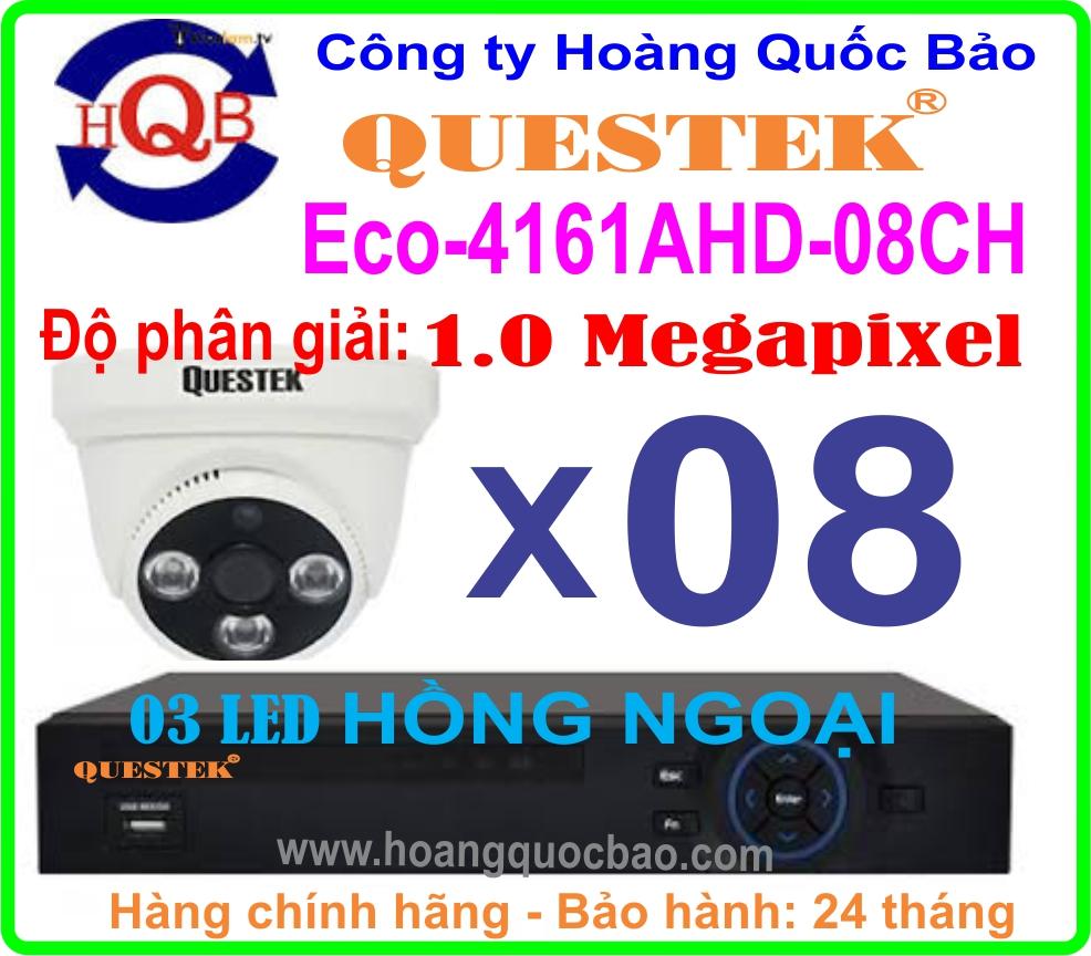 Hệ Thống 8 Camera eco -4161ahd - 08ch