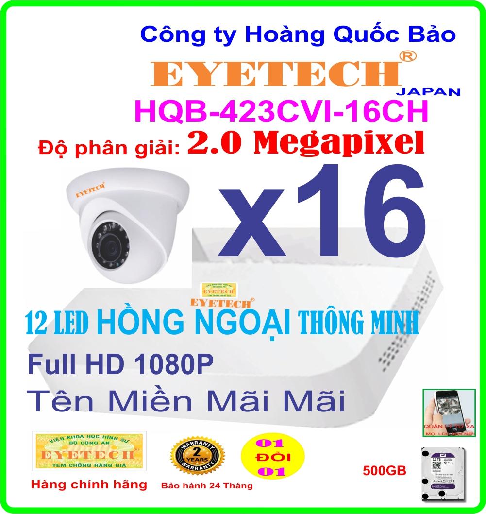 Hệ Thống 16 Camera Khuyến Mãi EYETECH ET-423CVI-16CH