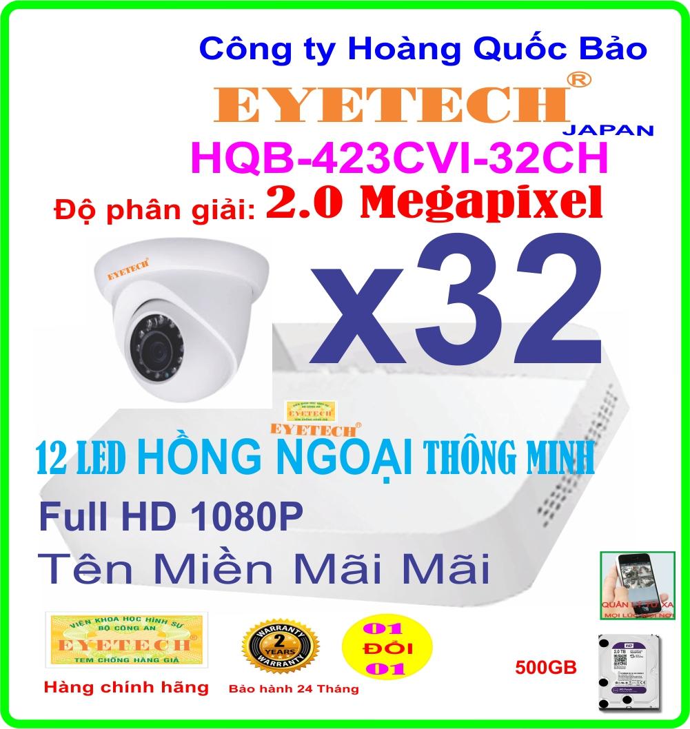 Hệ Thống 32 Camera Khuyến Mãi EYETECH ET-423CVI-32CH