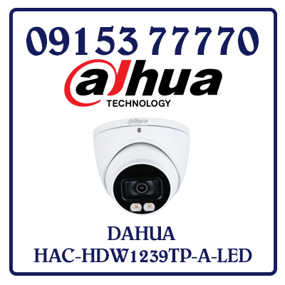 HAC-HDW1239TP-A-LED Camera Dahua HDCVI Giá Rẻ Nhất