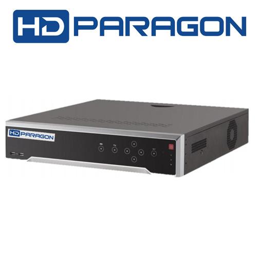 HDS-N7732I-4K/PE Đầu ghi hình IP xuất hình Ultra HD 4K 32 kênh