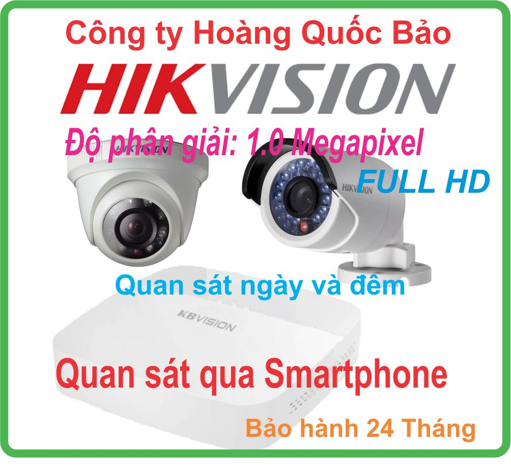 HỆ THỐNG  01 CAMERA HIKVISION