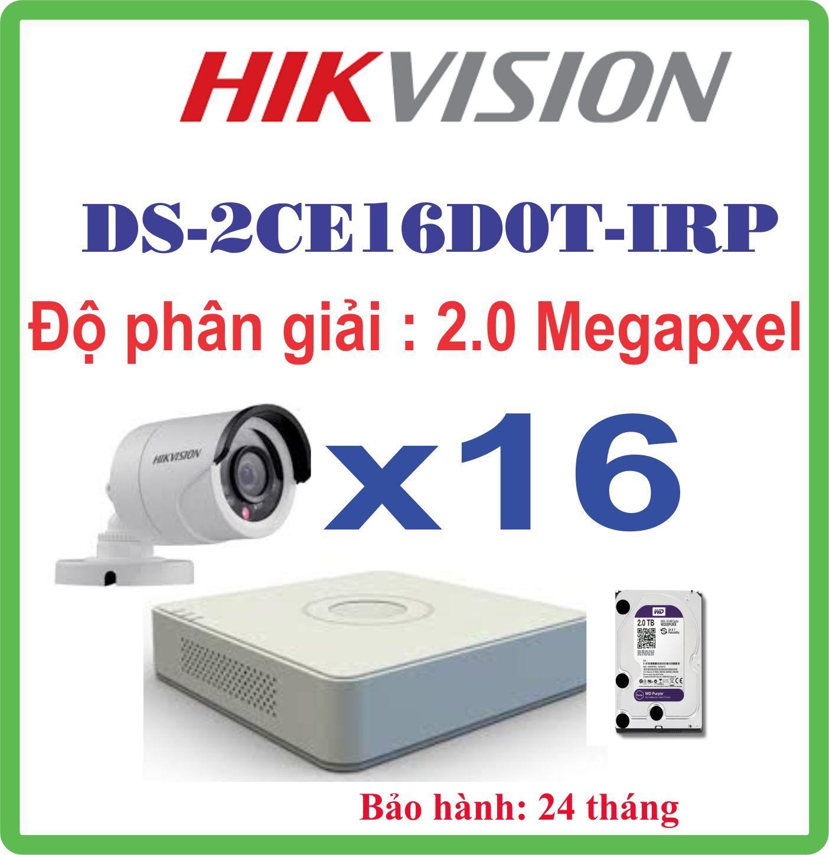 Hệ Thống 16 Camera HIKVISION Giá Rẻ