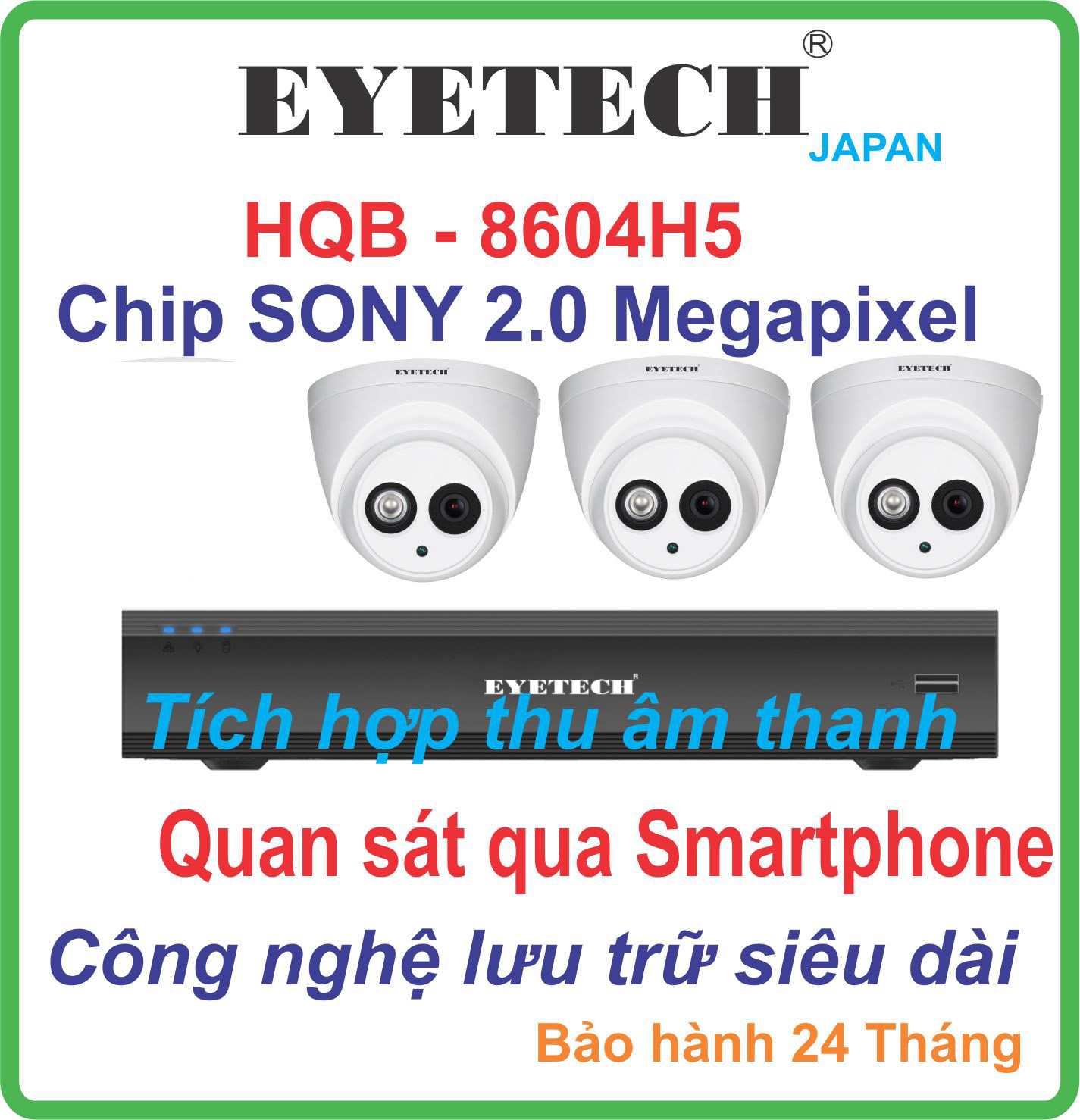 Hệ Thống 3 Camera Khuyến Mãi HIKVISION Giá Rẻ DS-2CE56COT IRP
